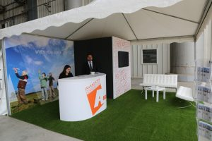 A-ICE Military Event Stand