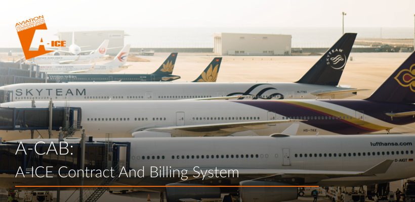 A-ICE Contract and Billing System A-CAB airport operations