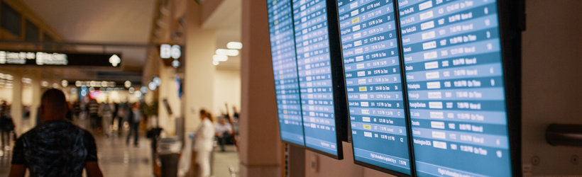 How Flight Information Display Systems Can Help Airports with Passenger Traffic Increases