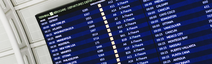 Flight Information Display System | Keeping passengers informed