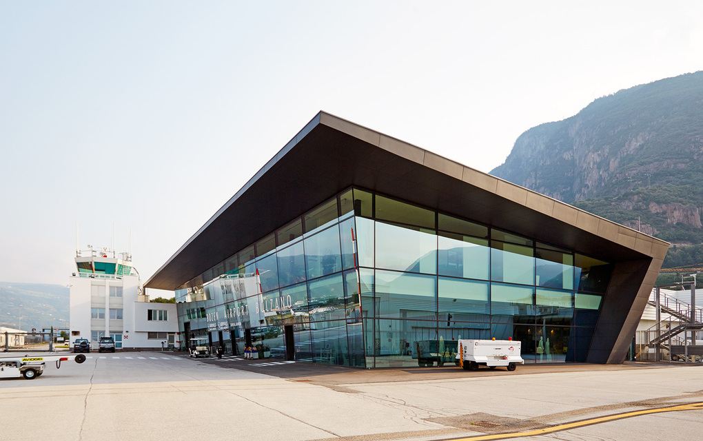 "Bolzano is the first ""airport in a box"", completely provided by A-ICE."