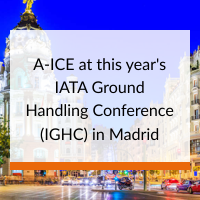A-ICE at IATA Ground Handling Conference IGHC 2019 in Madrid