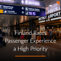 Finland Rates Passenger Experience a High Priority