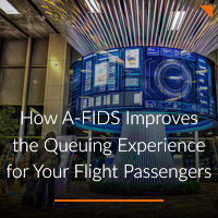 How A-FIDS Can Reduce the Pain of Queuing for Your Flight Passengers